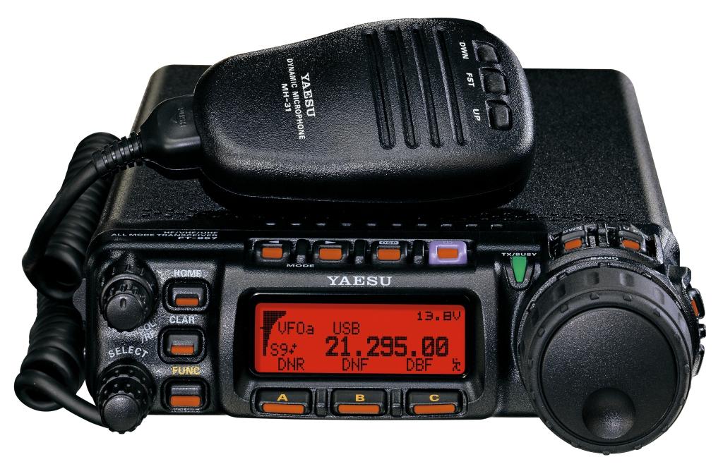 Радиостанция Yaesu FT-857D