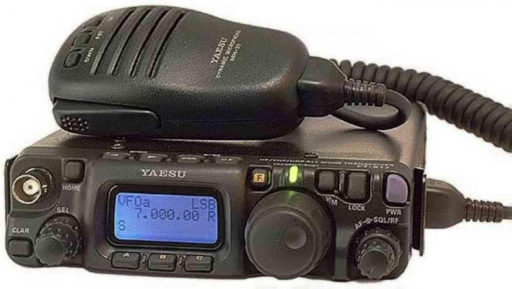 Радиостанция Yaesu FT-817ND