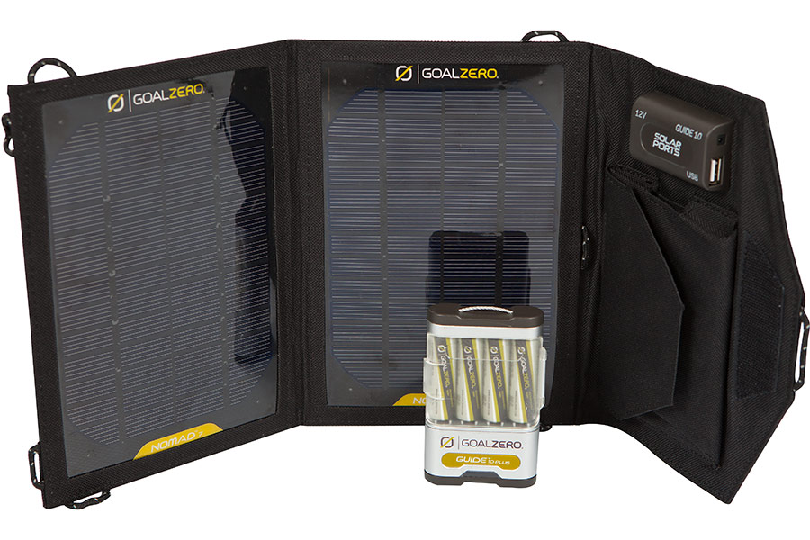 Комплект для зарядки Goal Zero Guide 10 Plus Adventure (Solar) Kit