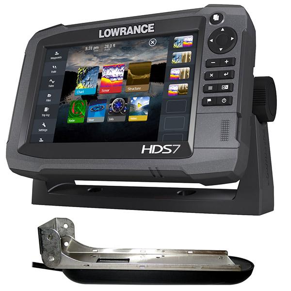 Эхолот с картплоттером Lowrance HDS-7 Gen3 ROW with StructureScan Transducer