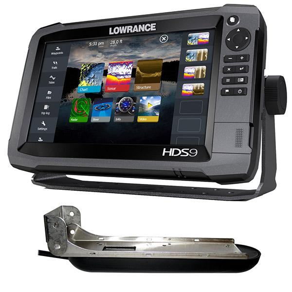 Эхолот с картплоттером Lowrance HDS-9 Gen3 ROW with StructureScan Transducer