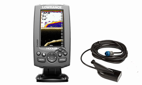 Эхолот Lowrance Hook-4x Mid/High/DownScan™