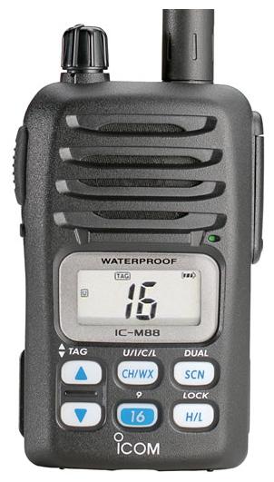 Радиостанция Icom IC-M88
