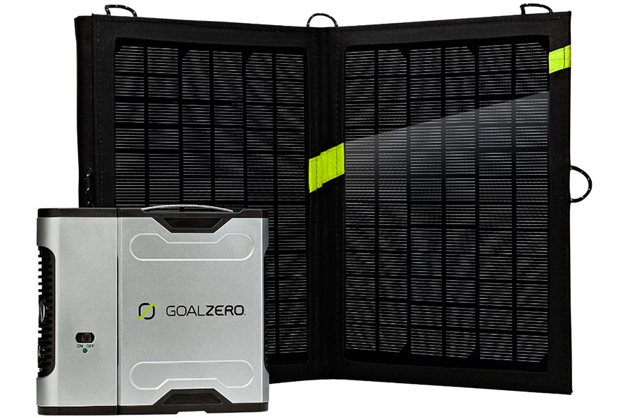 Комплект для зарядки Goal Zero Sherpa 50 с инвертором 220V