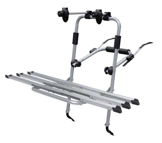 Menabo LOGIC 3 стальной, для трех велосипедов с механизмом натяжки