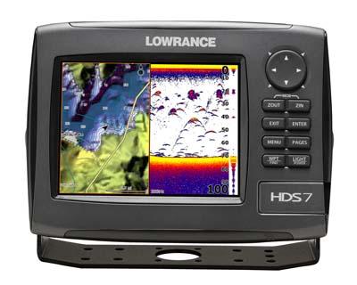 Эхолот с картплоттером Lowrance HDS-7 GEN3
