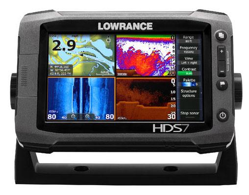Эхолот с картплоттером Lowrance HDS-7 Gen2 Touch