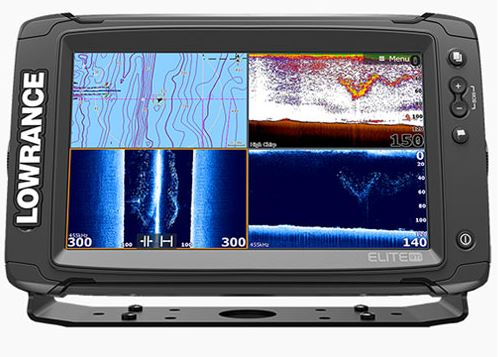 Эхолот-картплоттер Lowrance Elite-9 Ti Mid/High/TotalScan™