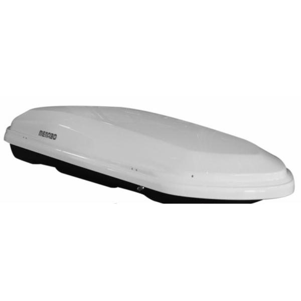 Автомобильный бокс Menabo Diamond 500 (Белый глянец)