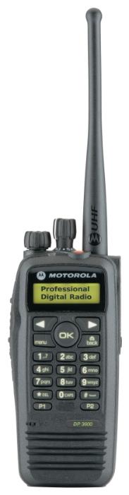 Радиостанция носимая Motorola DP3601 (136-174МГц),5Вт,1000кан, (MDH55JDH9LA1AN)