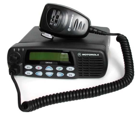 Радиостанция Motorola GM360 403-470МГц (UHF) (MDM25RHF9AN5_E)